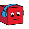 Brad, the red number cube